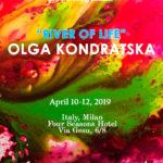 """Olga Kondratska """"THE RIVER OF LIFE"""" by CASA WWTS"""